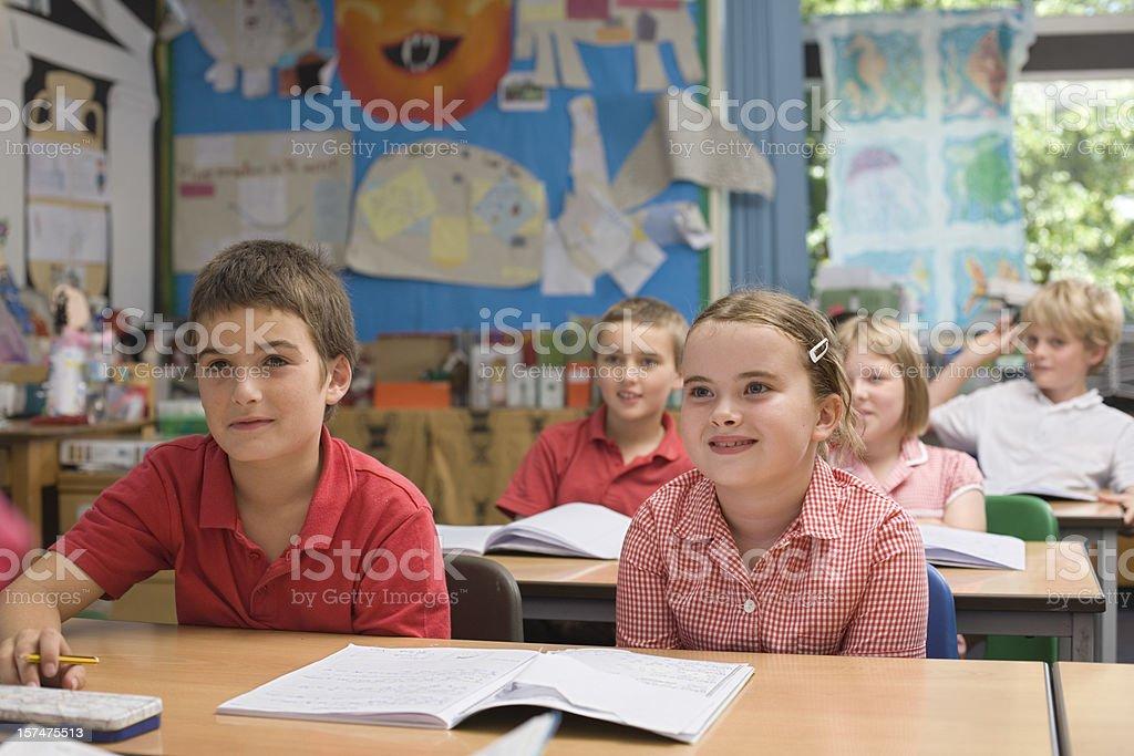 Classroom full of children royalty-free stock photo
