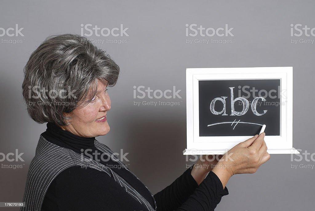 Classroom instruction royalty-free stock photo