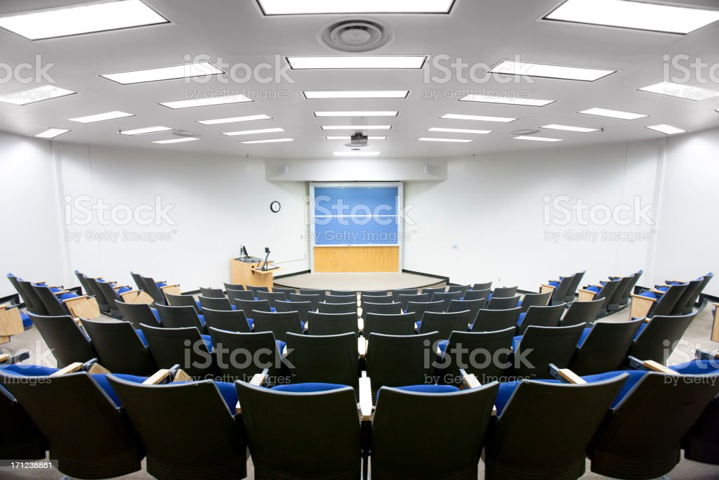 Classroom royalty-free stock photo