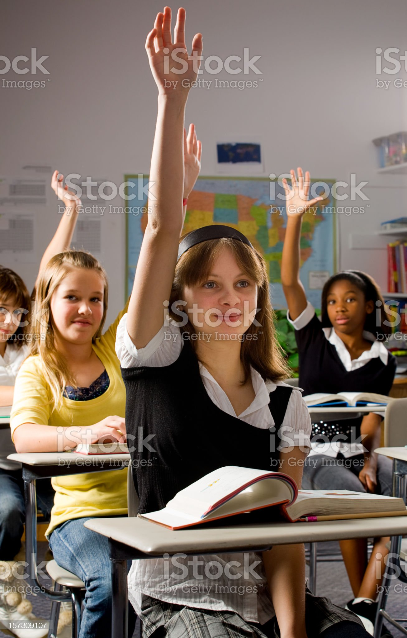 Classroom Series royalty-free stock photo