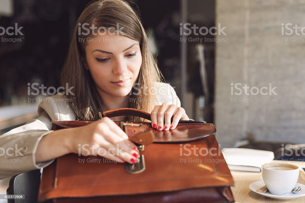Classy Career Girl stock photo