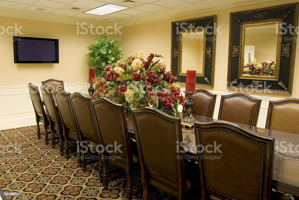 Classy Conference Room royalty-free stock photo