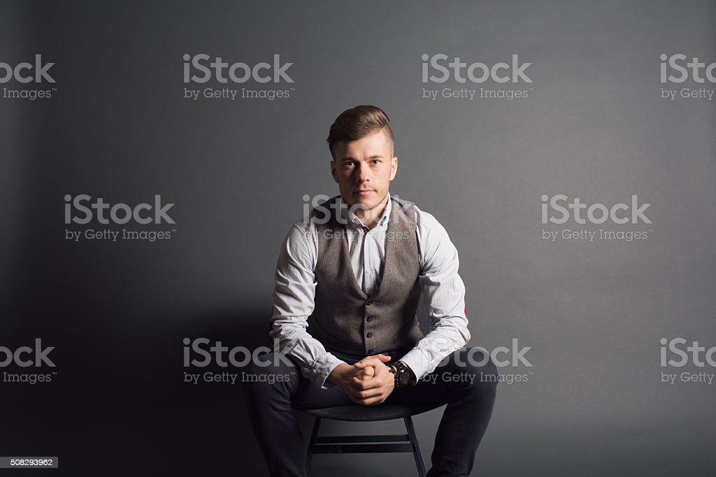 Classy Guy stock photo