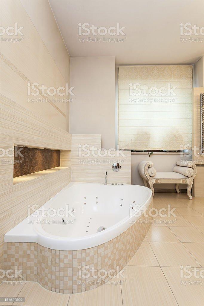 Classy house - bathroom interior royalty-free stock photo