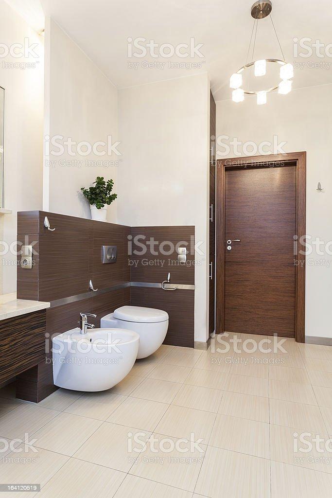 Classy house - bathroom royalty-free stock photo