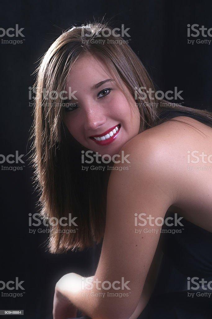 Classy lady royalty-free stock photo