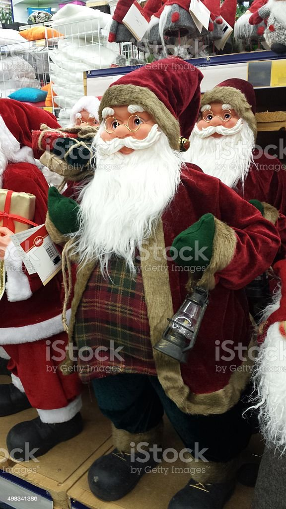 Claus stock photo