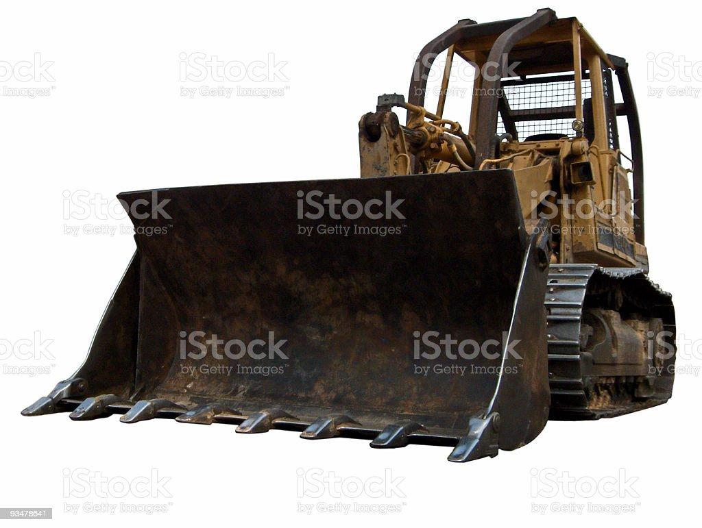 Claw Front Bull Dozer stock photo