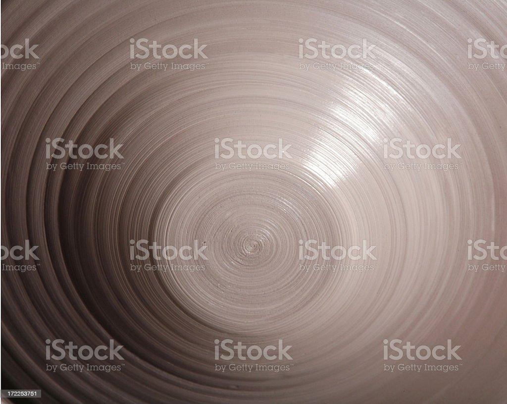Clay bowl stock photo