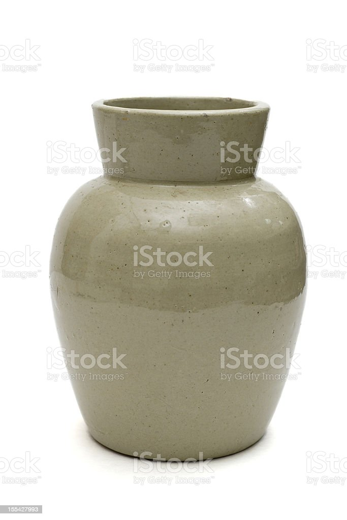 Clay Ceramic Flower Pot royalty-free stock photo