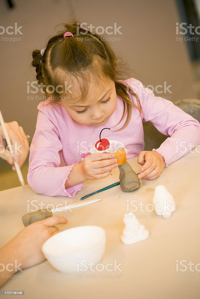 Clay Class royalty-free stock photo