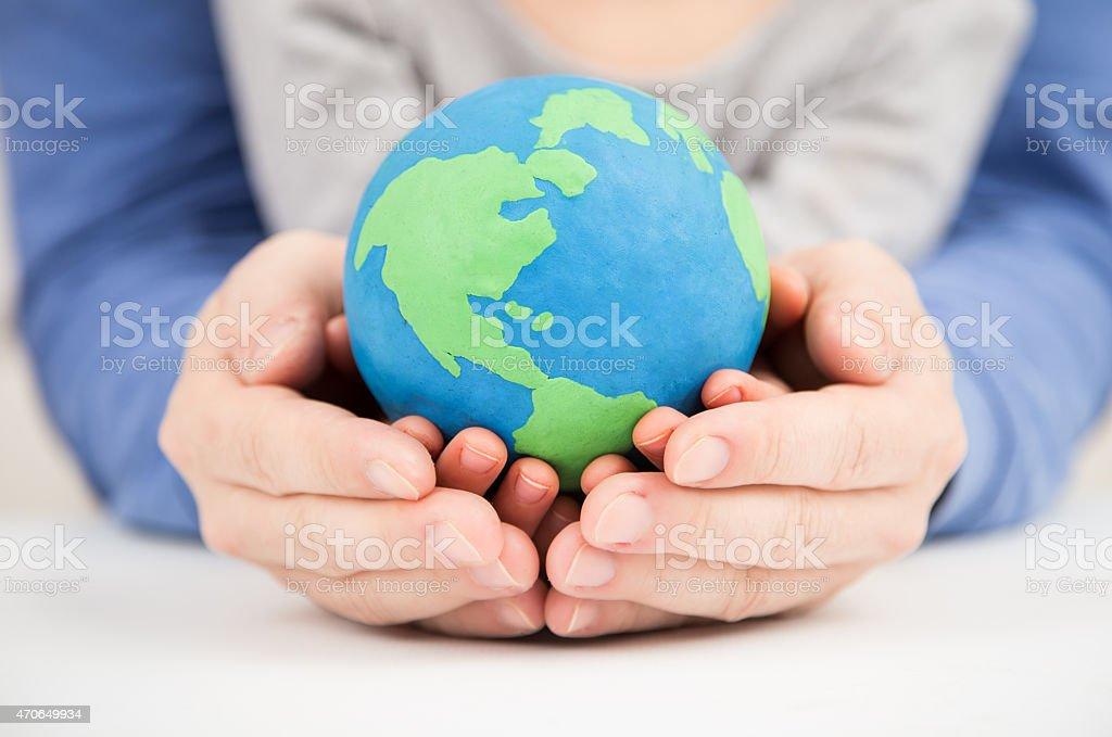 clay earth stock photo