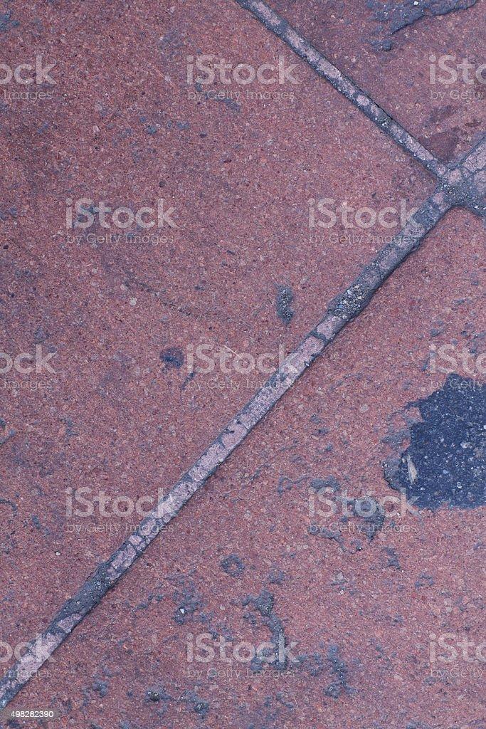 Clay floor stock photo