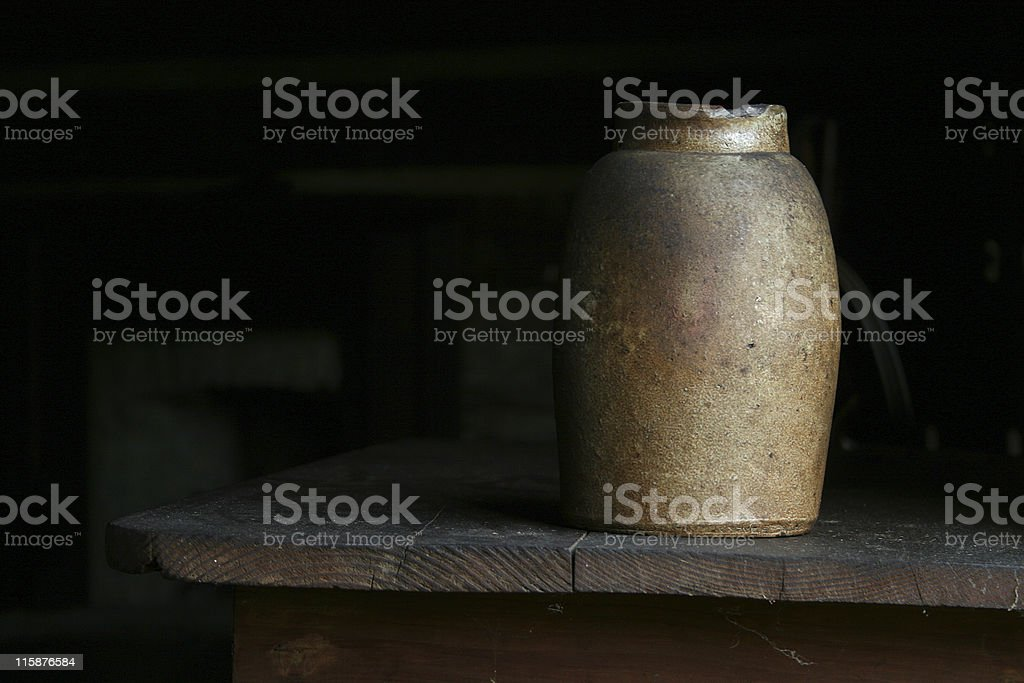Clay Pot royalty-free stock photo
