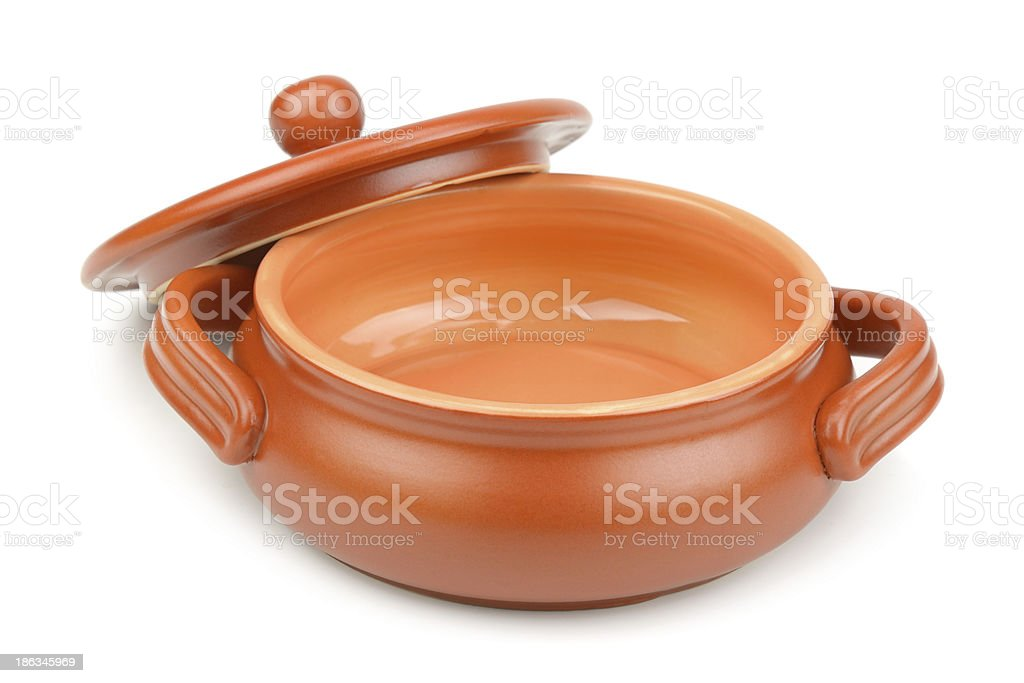 clay pot royalty-free stock photo