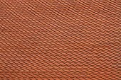Clay roof tiles background