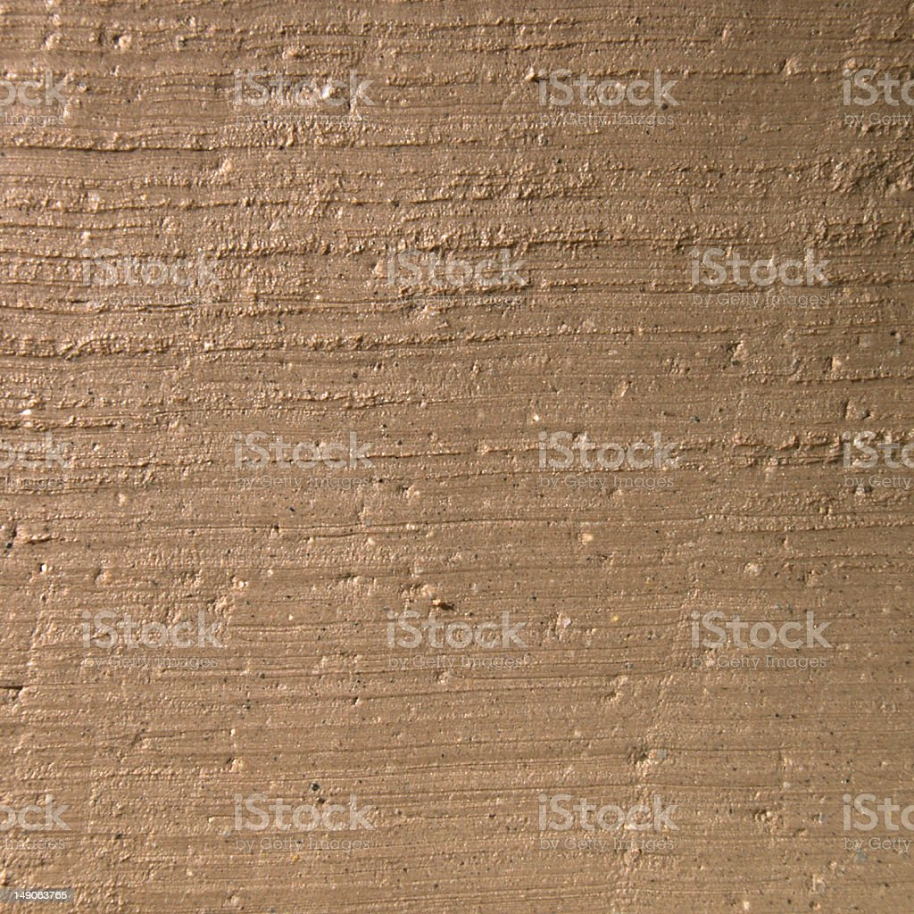 Clay surface royalty-free stock photo