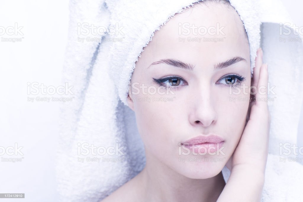 Clean and fresh stock photo