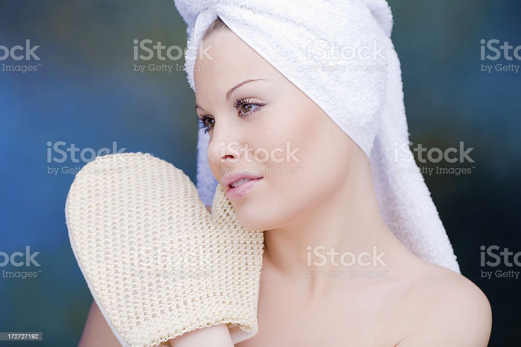 Clean and fresh royalty-free stock photo