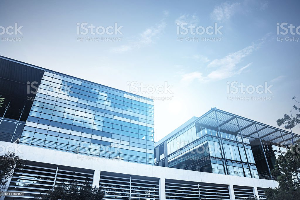 Clean and modern design office building royalty-free stock photo