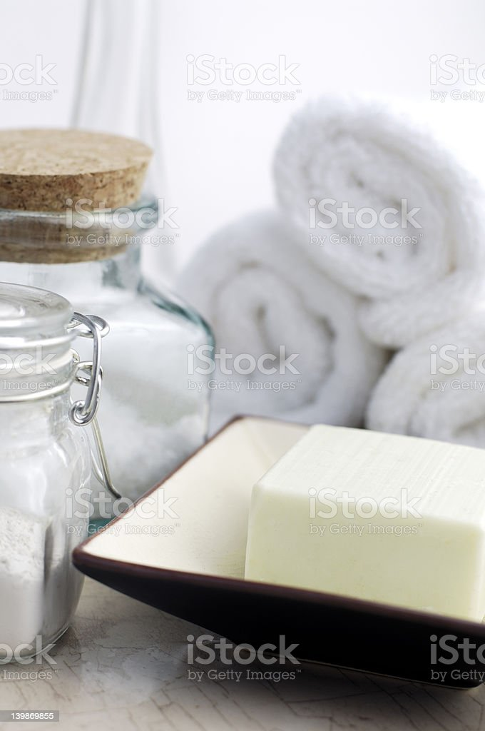 Clean and Natural royalty-free stock photo