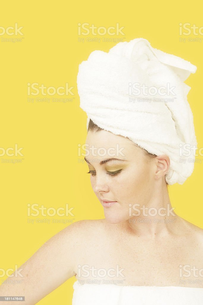Clean And Yellow stock photo