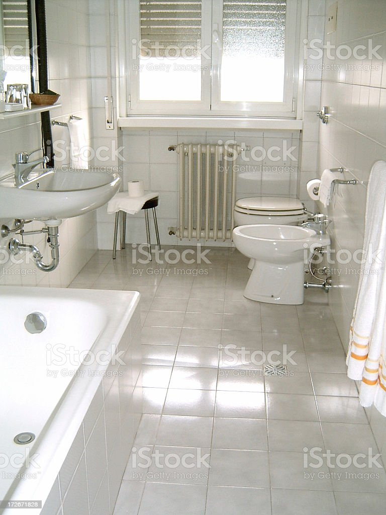 Clean Bathroom royalty-free stock photo
