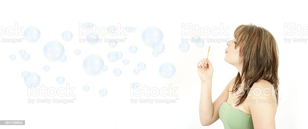 Clean Bubbles royalty-free stock photo