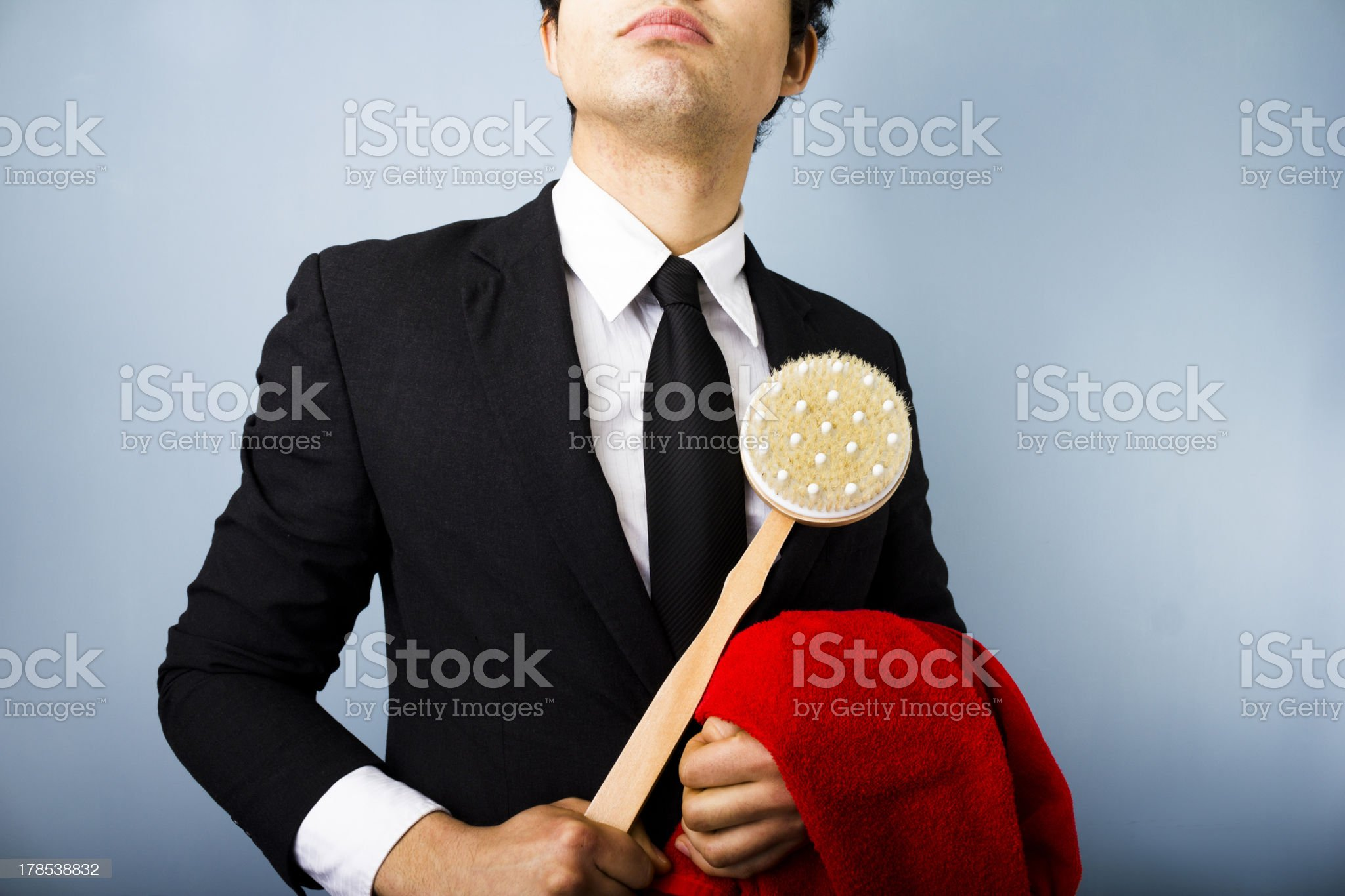 Clean businessman royalty-free stock photo
