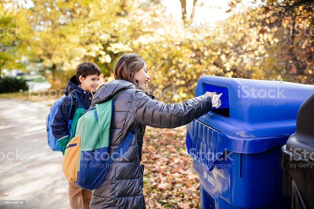 Clean city stock photo