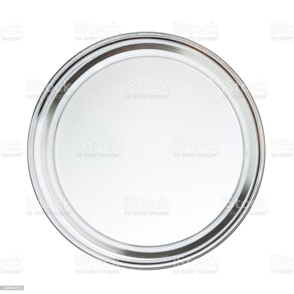 Clean closed empty perti dish stock photo