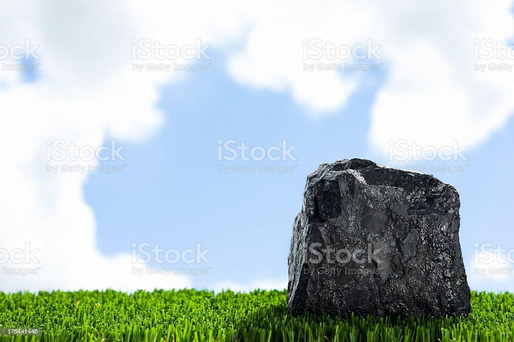 Clean Coal stock photo