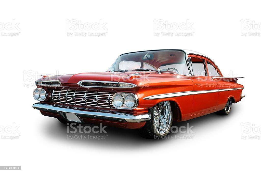 Clean Cruiser - 1959 Chevrolet Impala stock photo