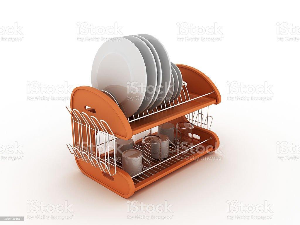 Clean Dishware stock photo