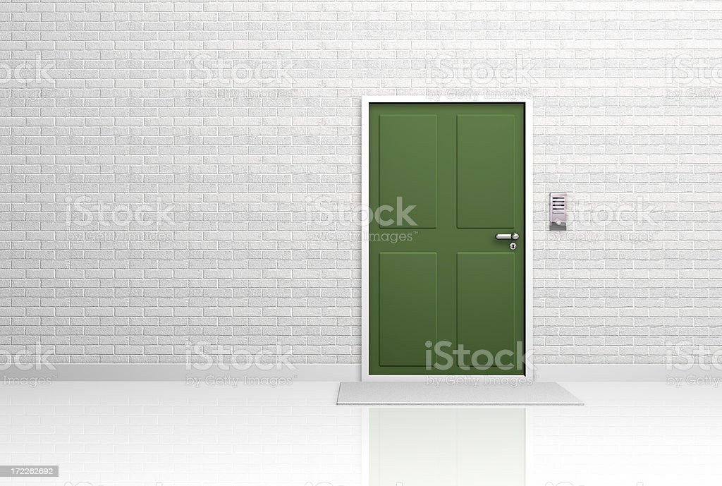 a symbolic image of a door. Open version available .