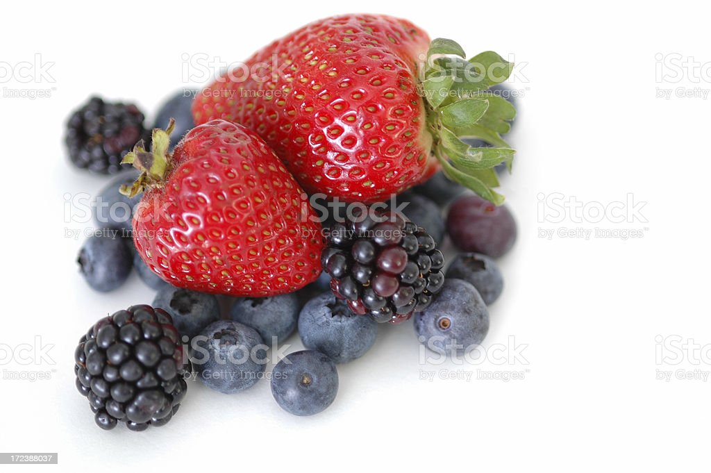 Clean Eating Series: Berry Macro IX royalty-free stock photo