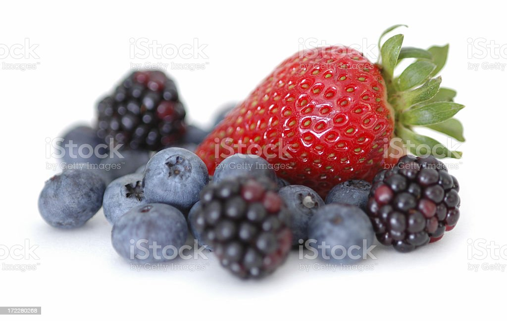 Clean Eating Series: Berry Macro VI royalty-free stock photo