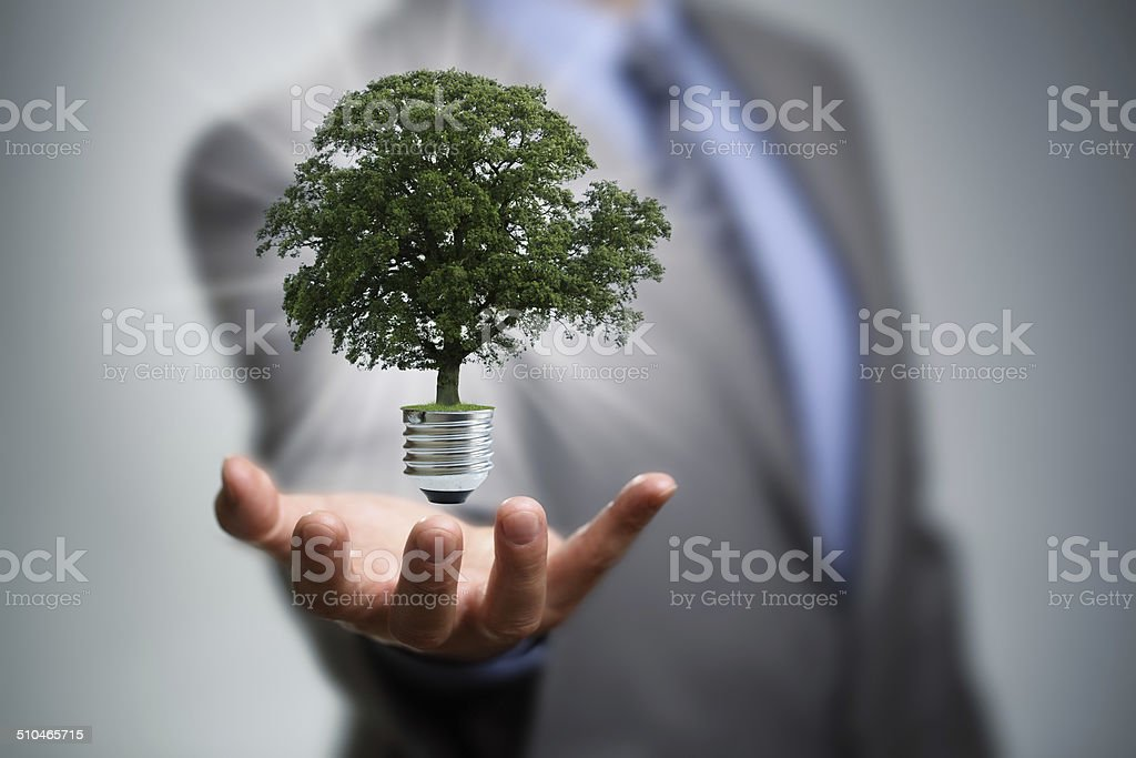 Clean energy stock photo