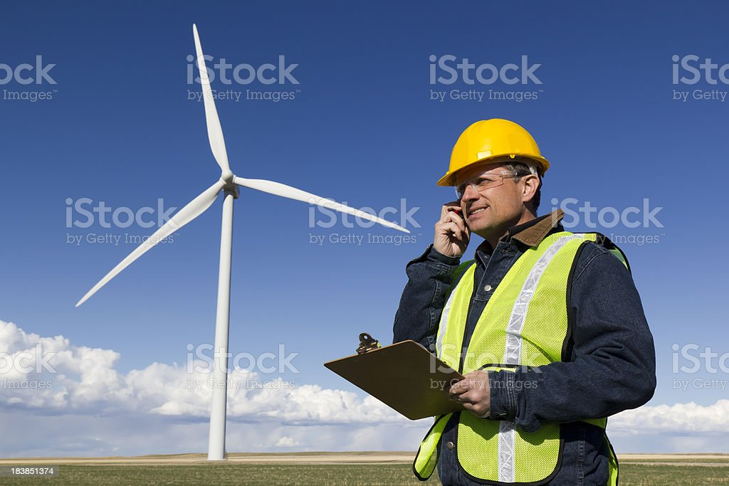 Clean Energy Report royalty-free stock photo