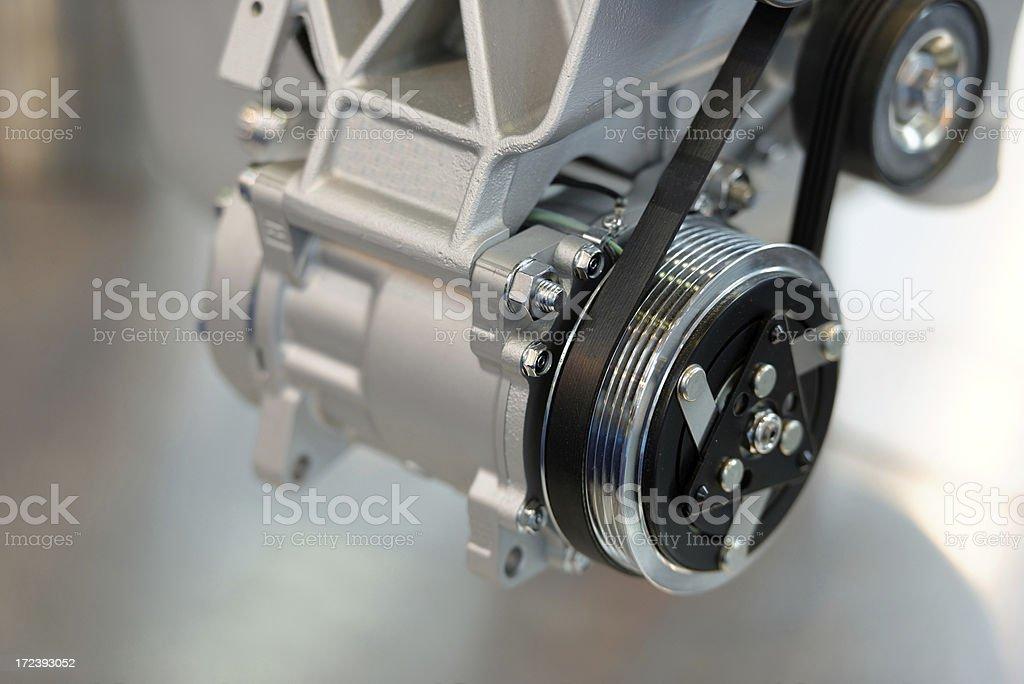 clean engine stock photo