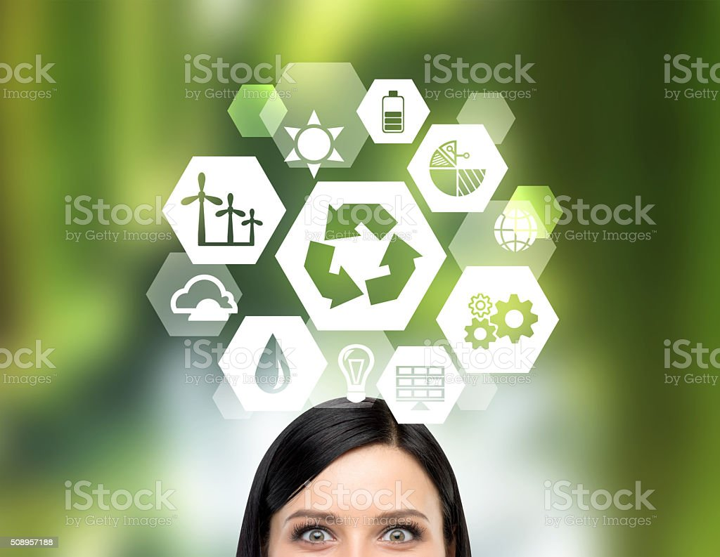 Clean environment stock photo