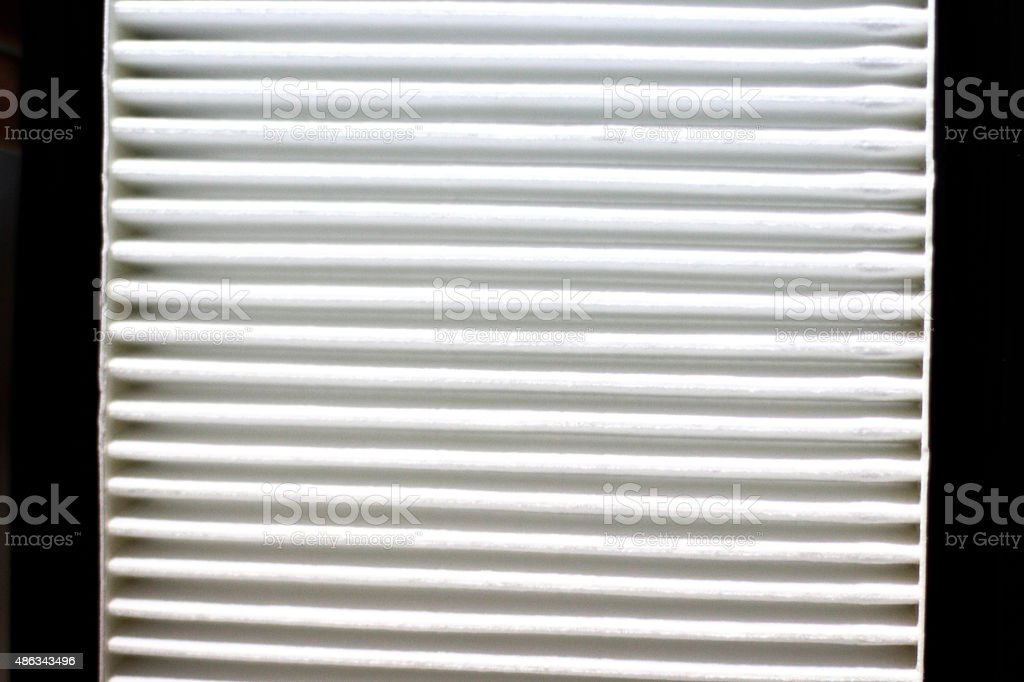 Clean filter-new stock photo