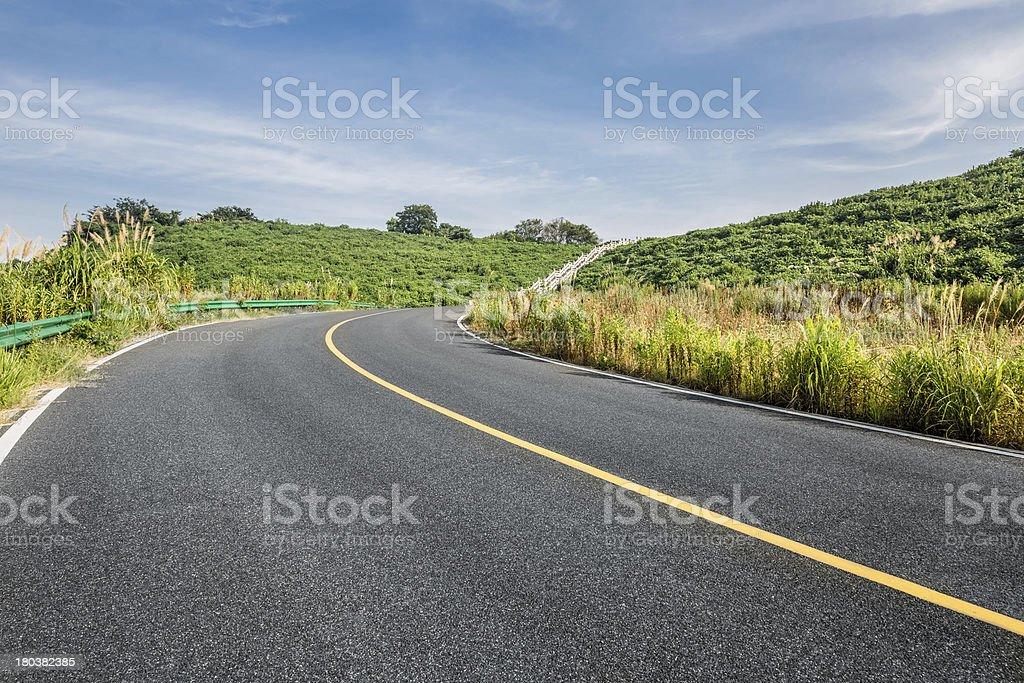 clean freeway royalty-free stock photo