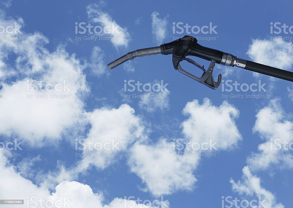 Clean Fuel royalty-free stock photo