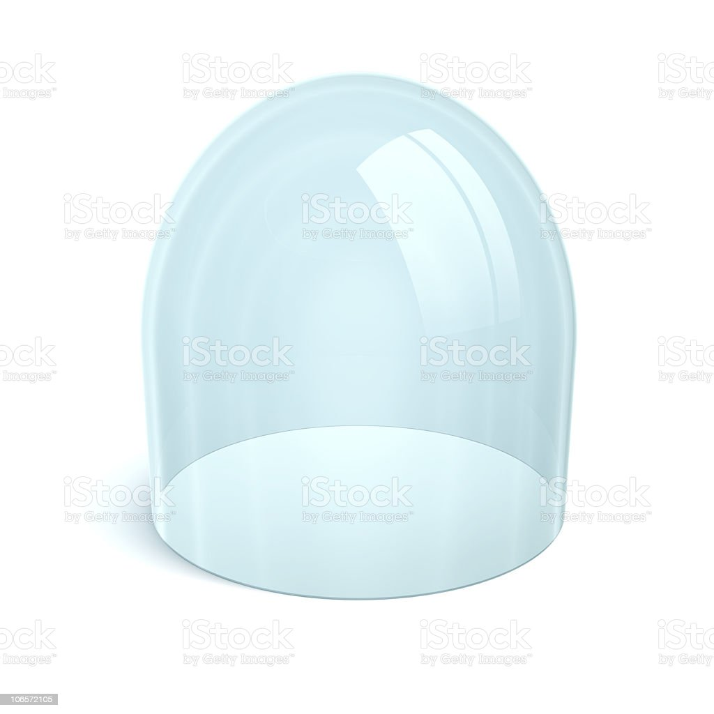 clean glass dome royalty-free stock photo