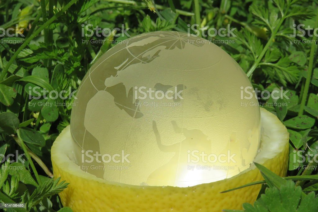 clean green planet - environment concept