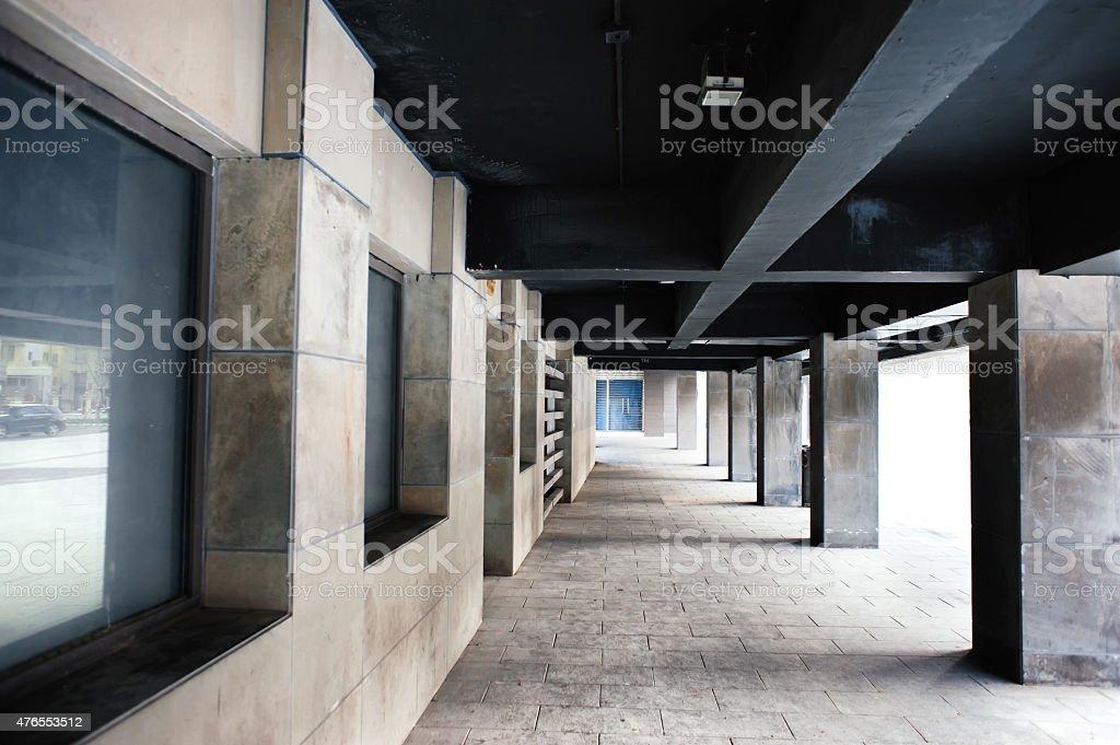 clean hallway stock photo