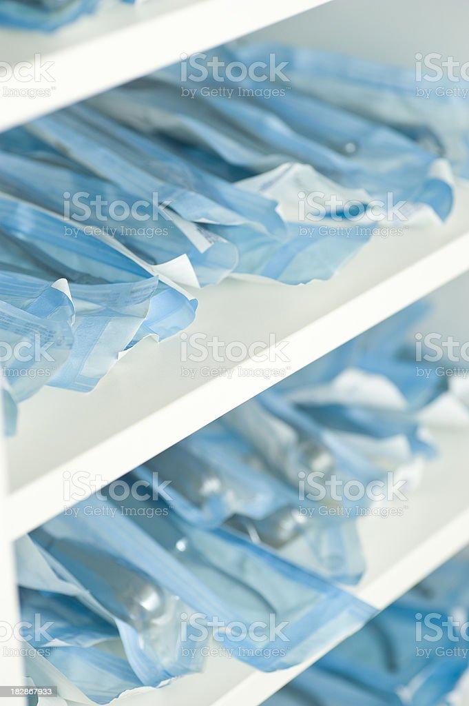 clean hygienic dentist equipment stock photo
