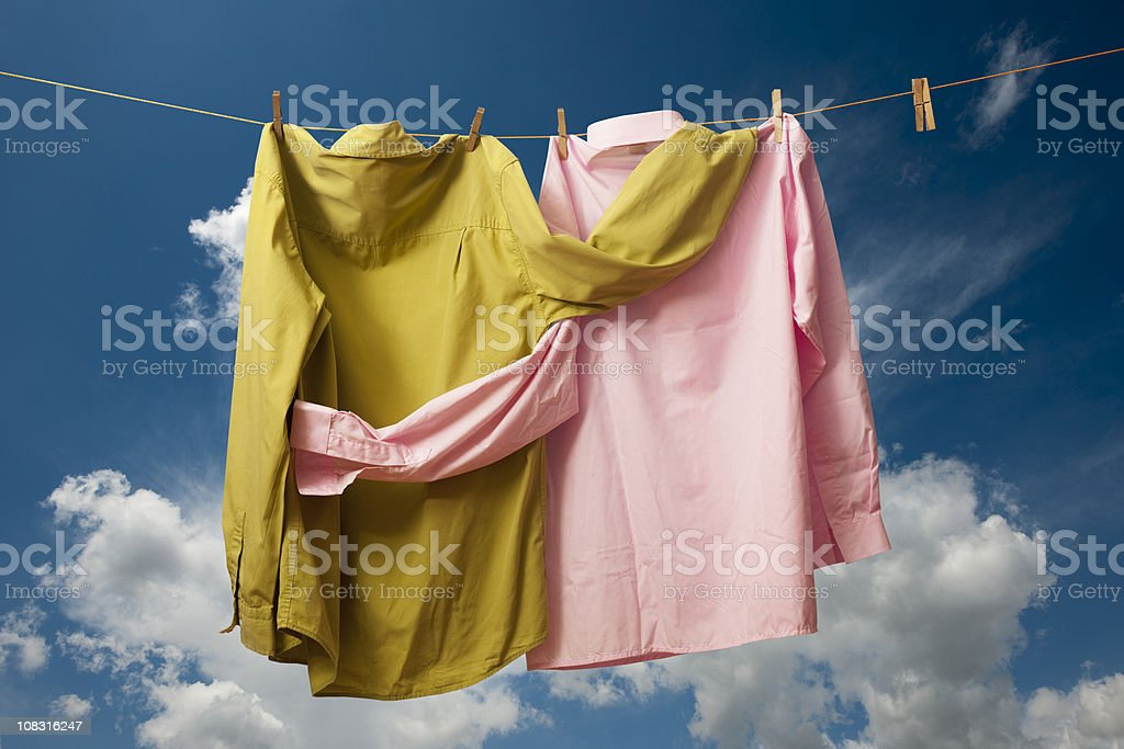 clean laundry royalty-free stock photo