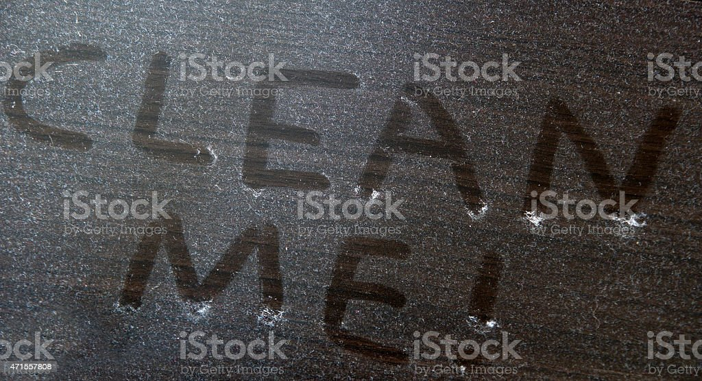 clean me stock photo